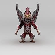 龙子谷动漫游戏角色怪物3D模型3d模型