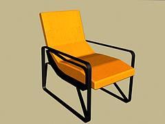 现代简约沙发躺椅3D模型3d模型