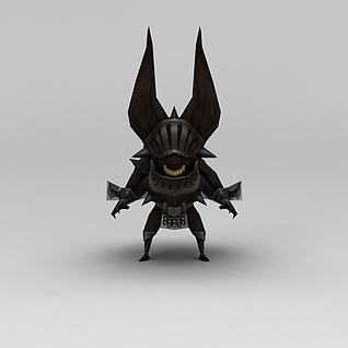 龙子谷游戏怪兽模型3d模型3d模型