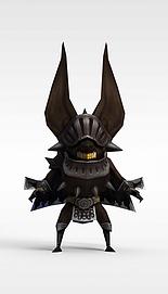 龙子谷游戏怪兽模型3d模型