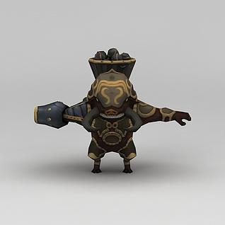 龙子谷游戏动漫角色怪物3d模型3d模型