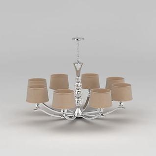 现代装饰吊灯3d模型3d模型