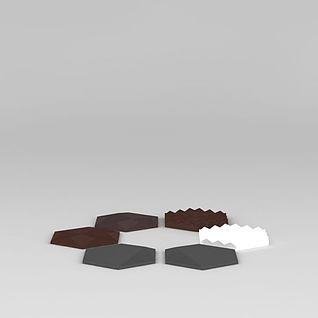 线性切割造型3d模型