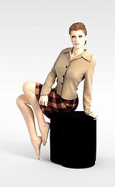 欧美女模特模型