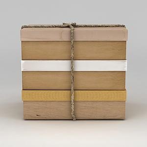 3d箱子模型
