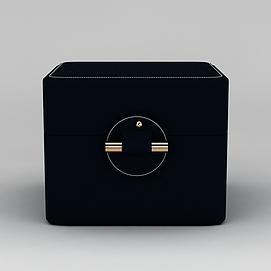 3d欧式首饰盒模型