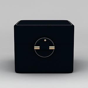 欧式首饰盒模型3d模型