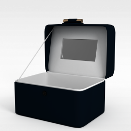 3d首饰盒模型