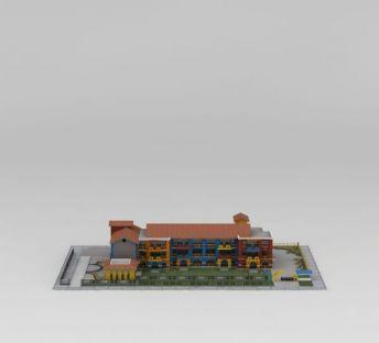 幼儿园建筑楼