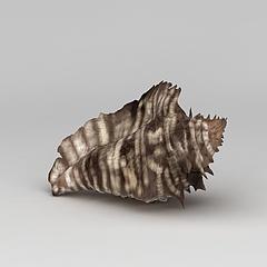 海螺饰品模型3d模型
