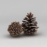 松球饰品3D模型3d模型