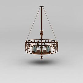现代装饰吊灯模型