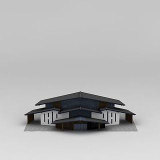 <font class='myIsRed'>飞机</font>造型建筑3d模型