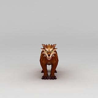 <font class='myIsRed'>Q版小鱼儿与花无缺</font>游戏角色动物3d模型