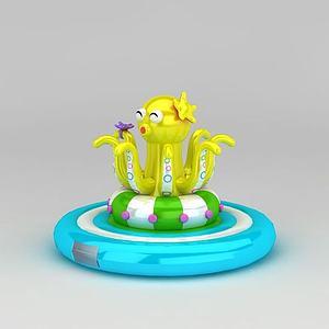 3d兒童游樂設備淘氣包<font class='myIsRed'>充氣</font>城堡模型