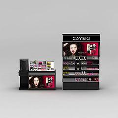 化妆品前台柜模型3d模型