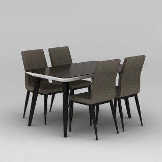 餐桌餐椅3d模型