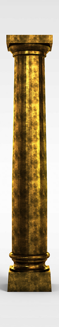 欧式柱子模型