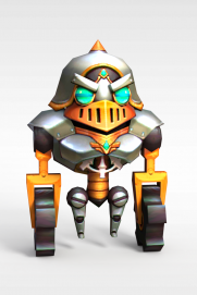 手游角色<font class='myIsRed'>机器人</font>3d模型