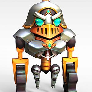 3d手游角色<font class='myIsRed'>機器人</font>模型