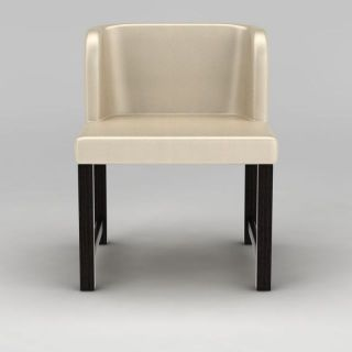 欧式米色<font class='myIsRed'>餐椅</font>3d模型