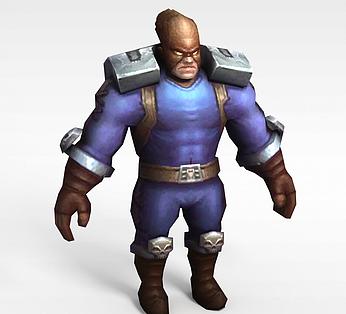 凤舞三国游戏人物动漫角色战士
