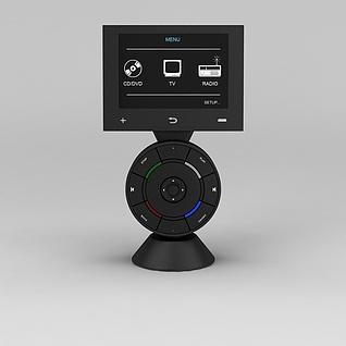 电子音响3d模型