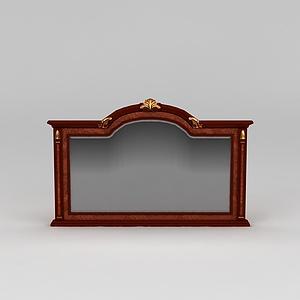 客厅电视背景墙模型3d模型