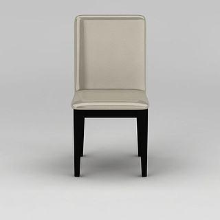 简约休闲<font class='myIsRed'>餐椅</font>3d模型
