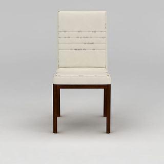 复古<font class='myIsRed'>餐椅</font>3d模型