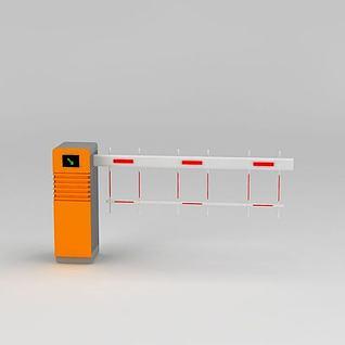 拦路器3d模型