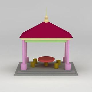 <font class='myIsRed'>儿童玩具</font>亭子3d模型