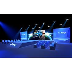 JEEP汽车品牌发布会场景3D模型3d模型