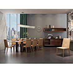 现代精品实木餐桌餐椅组合3D模型3d模型