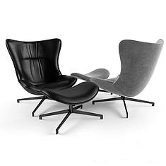 时尚休闲椅3D模型3d模型