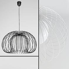 现代创意金属吊灯3D模型3d模型