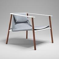 时尚单椅3D模型3d模型