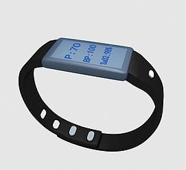 医疗手环模型