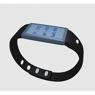 医疗手环3d模型