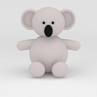 玩偶儿童玩具考拉3d模型3d模型