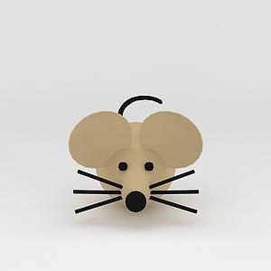 玩偶兒童玩具老鼠模型3d模型