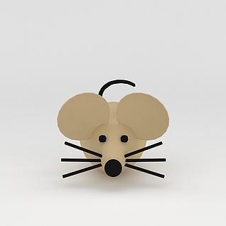 玩偶儿童玩具老鼠3d模型3d模型