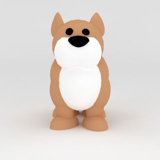 玩偶儿童玩具<font class='myIsRed'>狗</font>3d模型