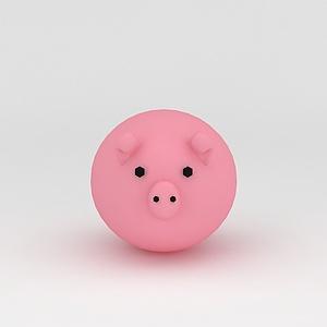 3d玩偶<font class='myIsRed'>儿童玩具</font>小猪模型