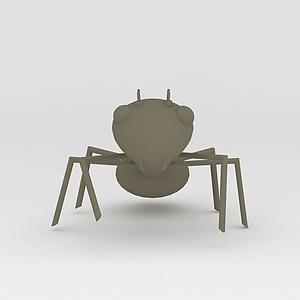 3d玩偶<font class='myIsRed'>儿童玩具</font>蚂蚁模型