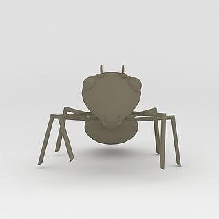 玩偶儿童玩具蚂蚁3d模型