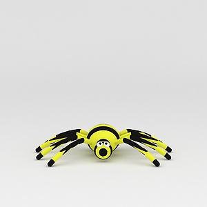 3d玩偶<font class='myIsRed'>儿童玩具</font>蜘蛛模型