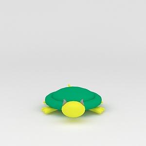 3d玩偶<font class='myIsRed'>儿童玩具</font>乌龟模型