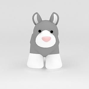3d玩偶<font class='myIsRed'>儿童玩具</font>马模型
