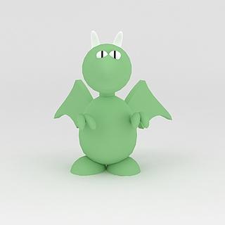 玩偶儿童玩具动物娃娃3d模型